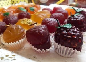 Fruits de Nice glacés
