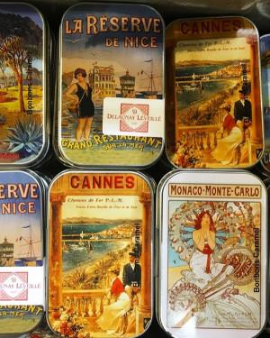Boîte de poche de caramels