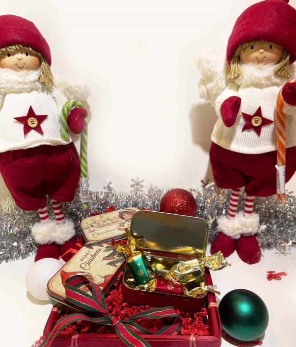 Boites à l'ancienne de Noël