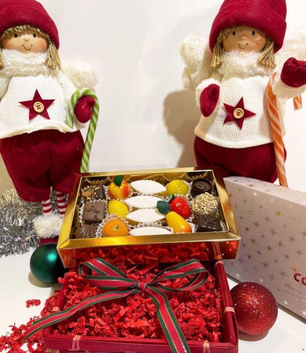 Coffret gourmand de Noël