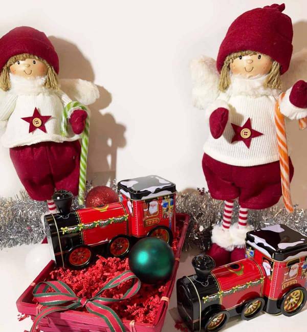 Coffret train de Noël