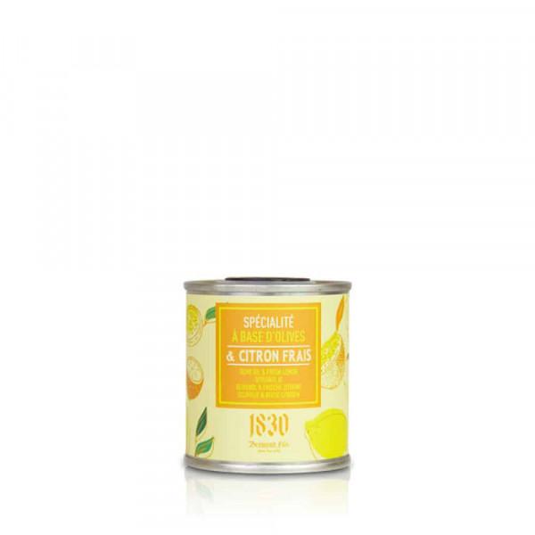 Huile d'olive vierge extra aromatisée au citron frais