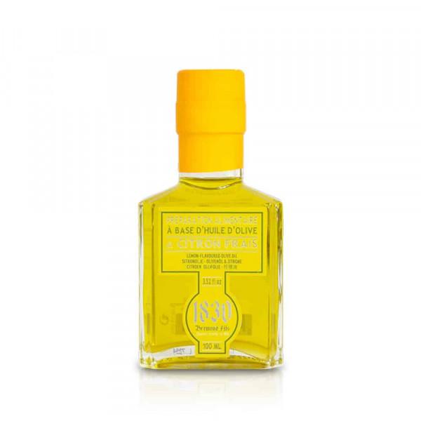 Huile d'olive aromatisée au citron
